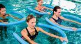 Упражнения аквааэробики для похудения