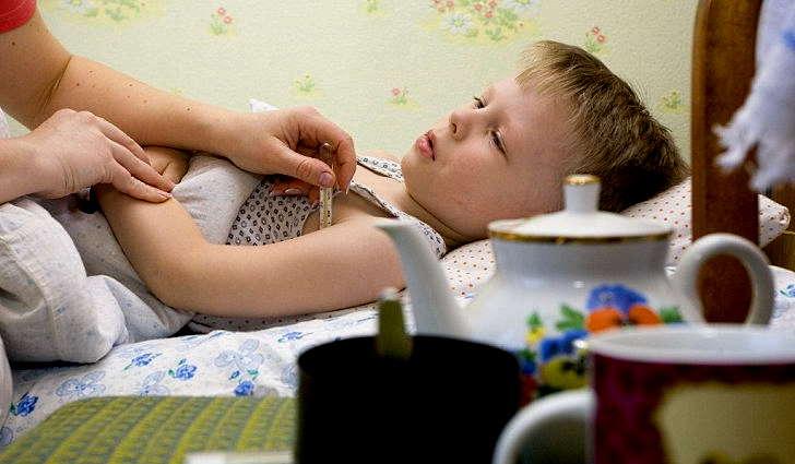 Кишечный грипп у детей: симптомы и лечение