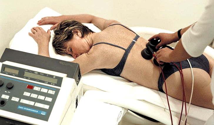 Физиотерапия позвоночника