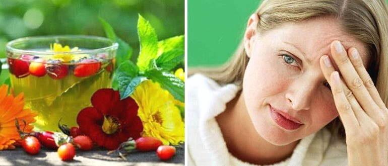 Народные средства лечения мигрени