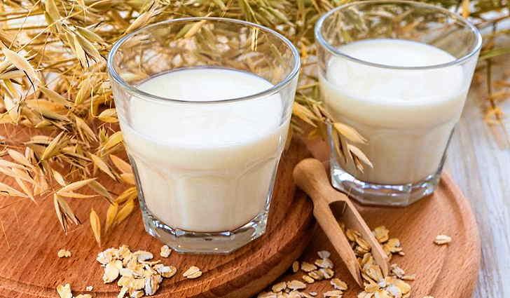 Отвар овса на молоке при пневмонии
