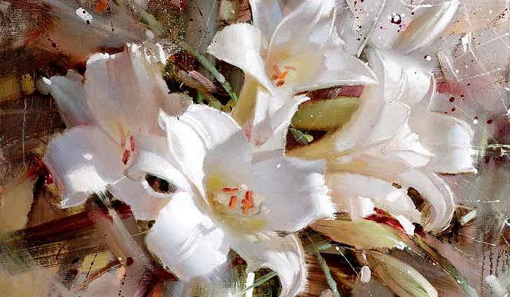 Масло из цветков белой лилии от тугоухости