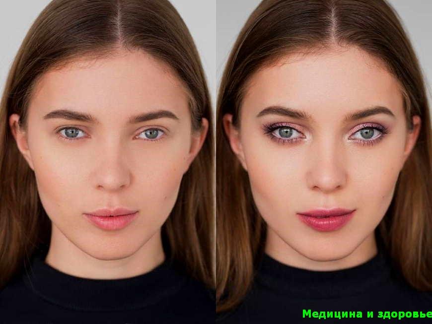Подобрать форму глаза при макияже