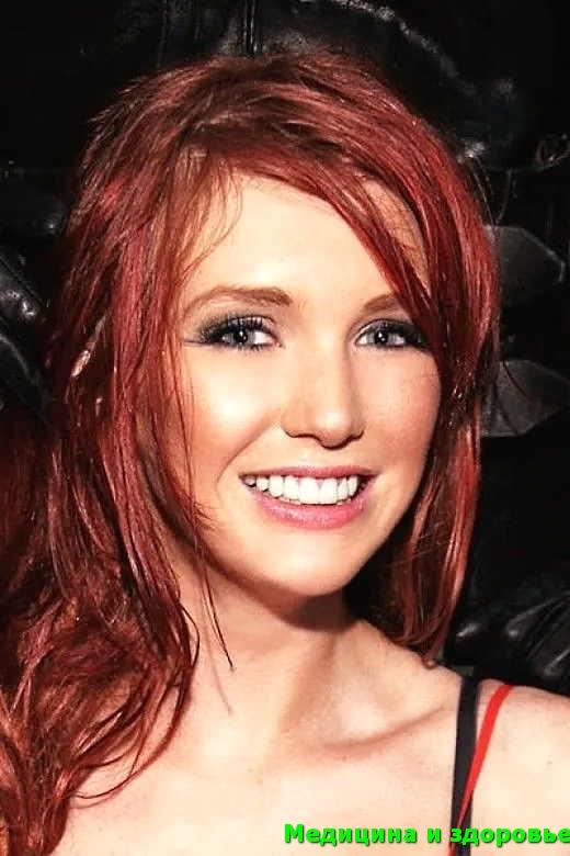 Оттенки волос красного цвета