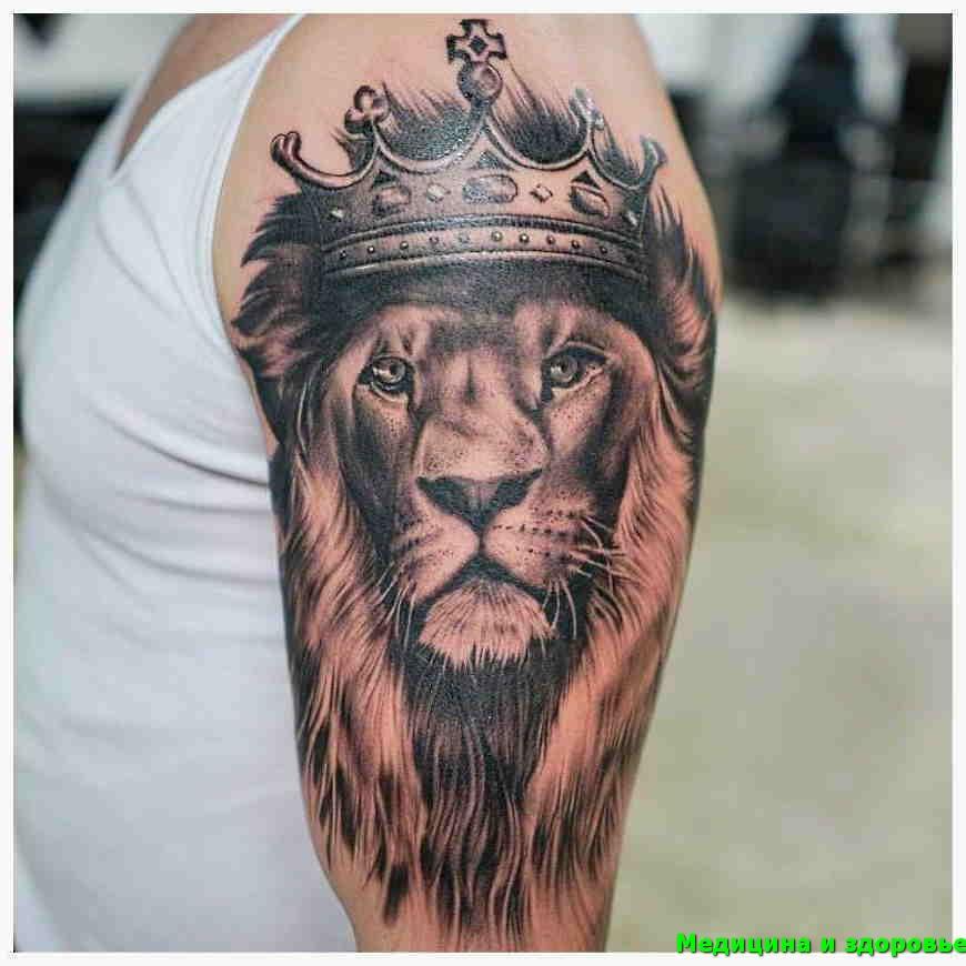 Тату лев