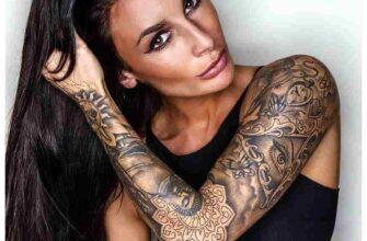 Уникальные акварельные татуировки
