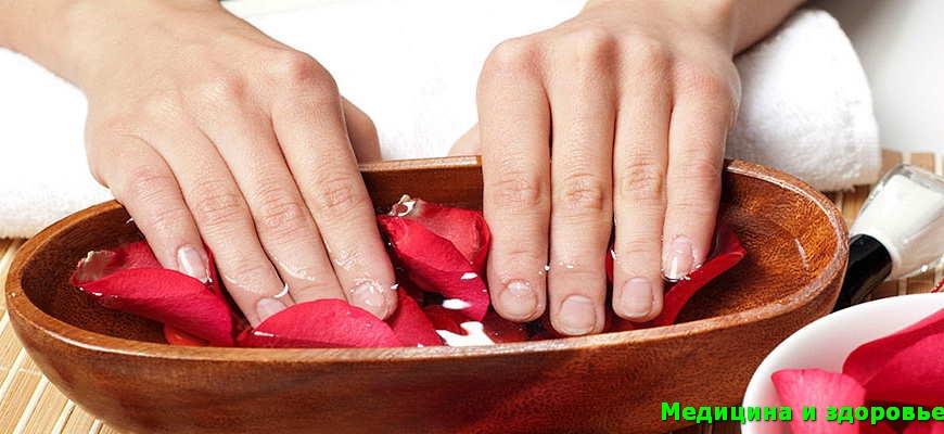 Как ускорить рост ногтей - ногти должны быть влажными