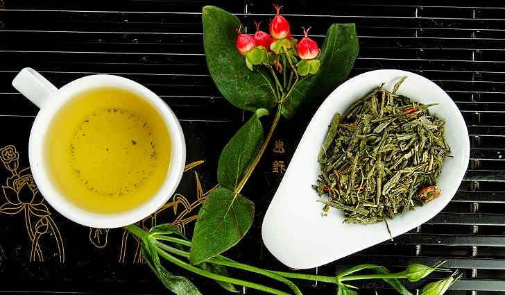 Зеленый чай - противовоспалительное народное средство